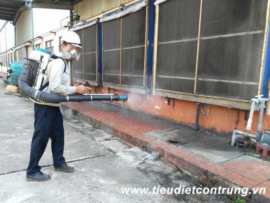 Phun côn trùng tại khu công nghiệp Tràng Duệ Hải Phòng