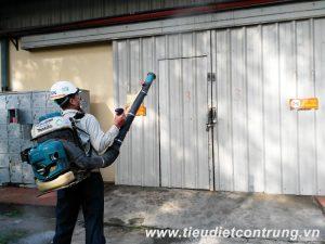 Phun muỗi tại Ngô Quyền