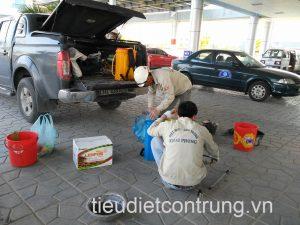 Phun côn trùng tại KCN Đình Vũ