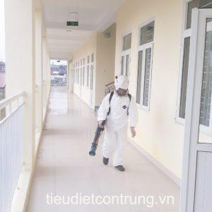 Khử trùng tại Khu công nghiệp Phú Thái